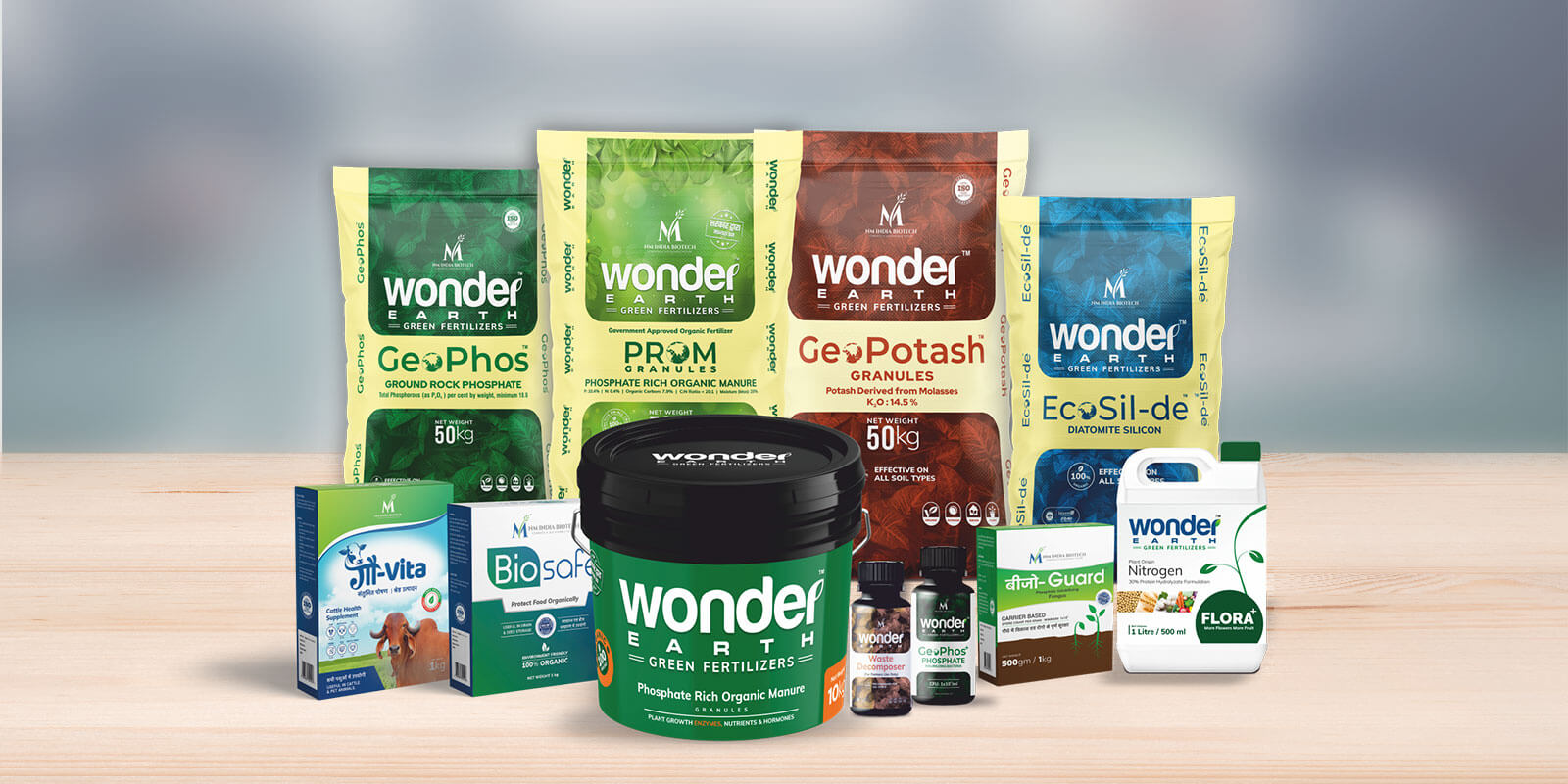 Wonder Earth PROM | Plant Nutrition Product | NM India Biotech